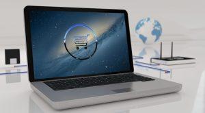 Komputer z routerem